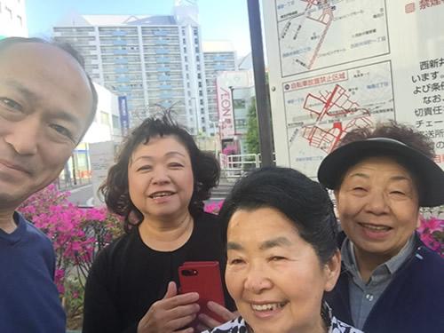 【社会貢献活動】西新井駅前清掃 2018年4月26日