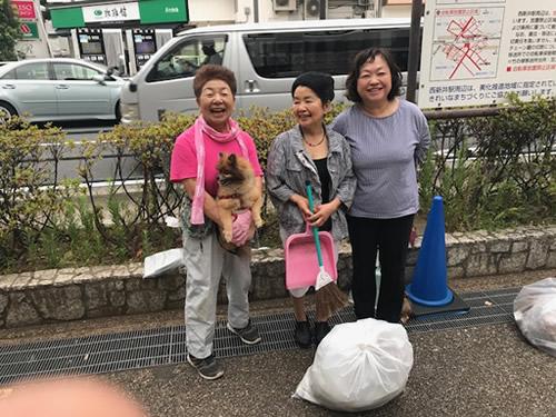 【社会貢献活動】西新井駅前清掃