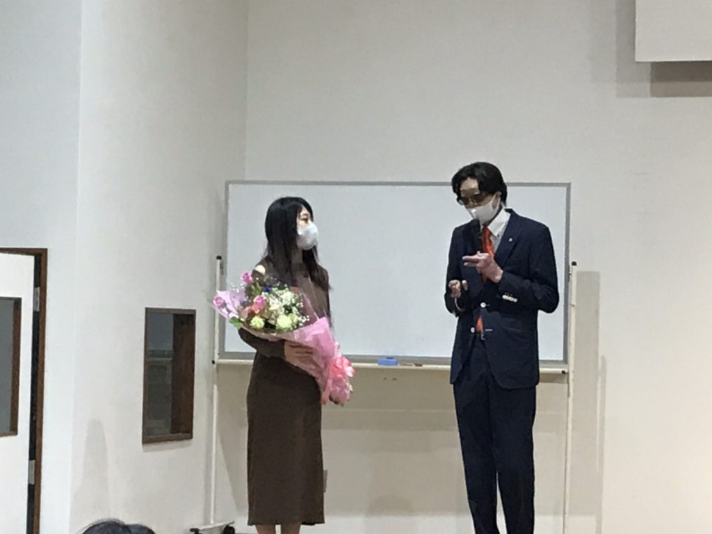 4月2日 古市さん 矢澤さんがご結婚
